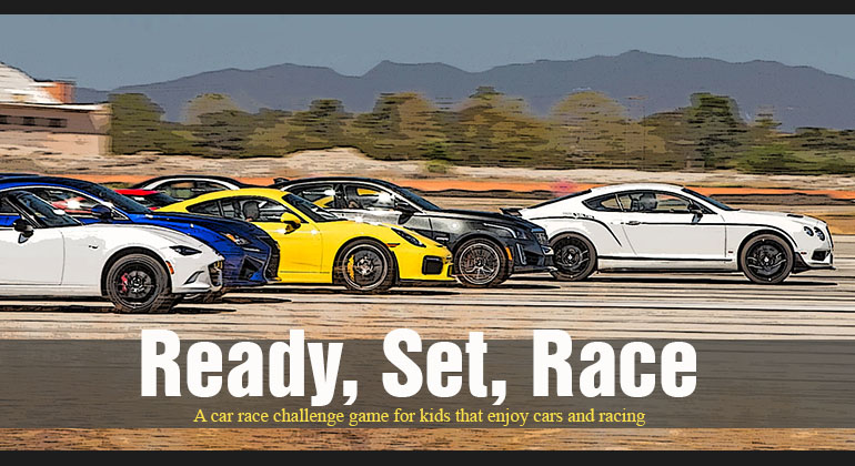 Ready, Set, Race – Racing Party Game