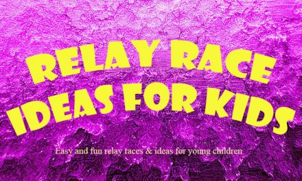 Relay Race Ideas for Young Kids