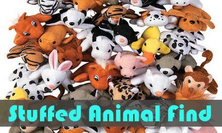 Stuffed Animal Find