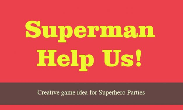 Superman, Help Us
