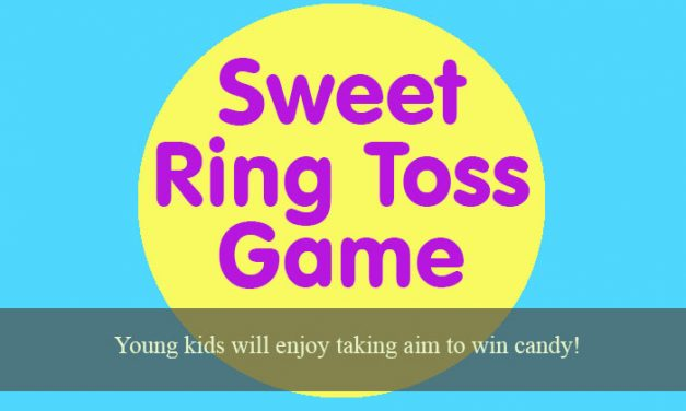 Sweet Ring Toss Game