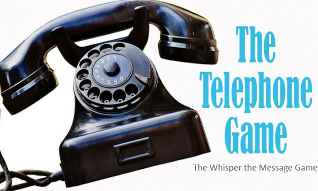 Telephone – Pass the Message Game