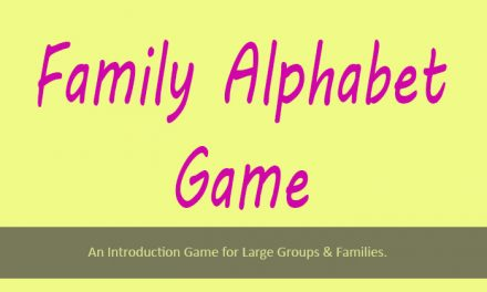 Family Alphabet Game