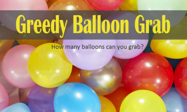 Greedy Balloon Grab