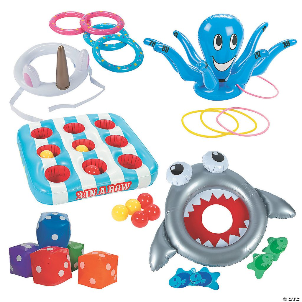 Inflatable Ring Toss Games Party Pack Kids Activities
