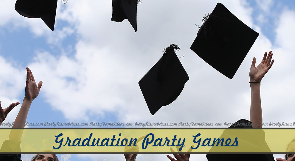 photograph about Free Printable Graduation Party Games named Commencement Celebration Game titles - Do it yourself and Printable Video games for Grad