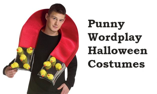 Punny Halloween Wordplay Costumes