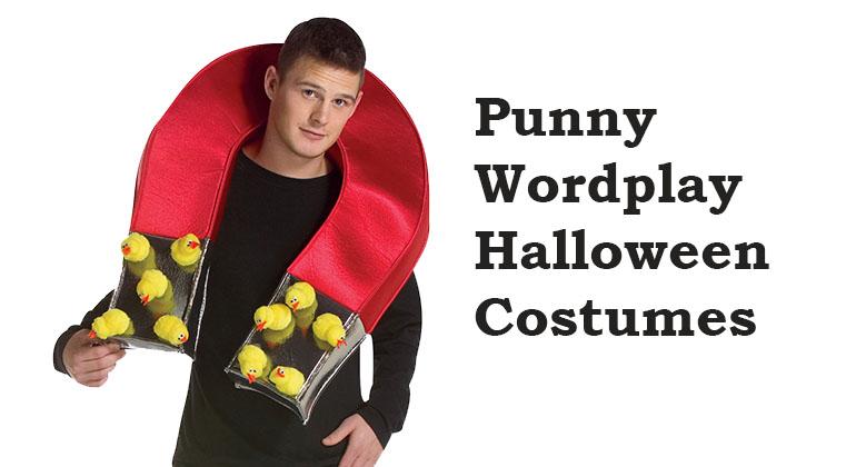 Punny Halloween Wordplay Costumes
