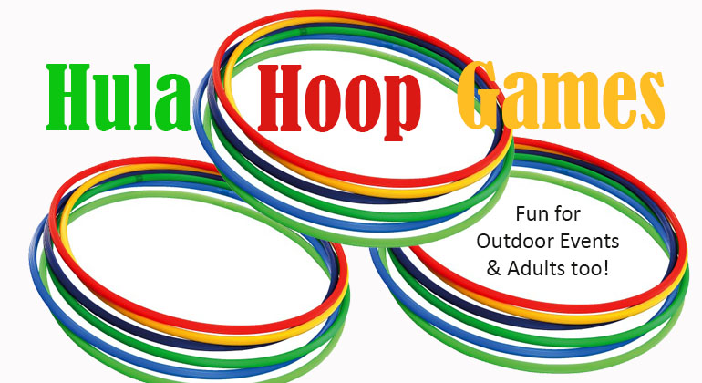 6 Hula Hoop  Games for Adults