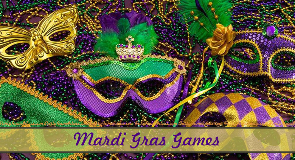 Mardi Gras Party Games and Ideas