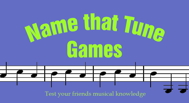 4 Name That Tune Games