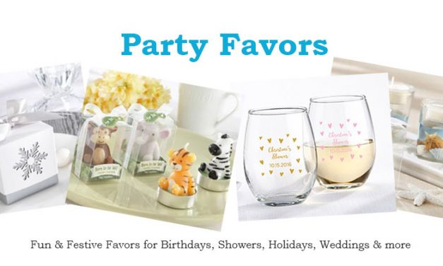 Party Favors for Kids Birthdays and Adults