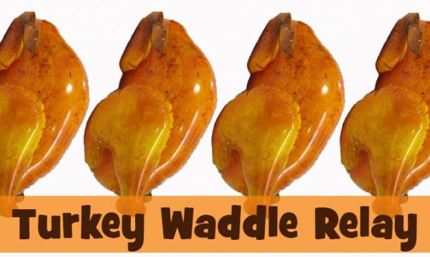 Turkey Waddle Relay Race