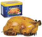 Inflatable Turkey Relay Game
