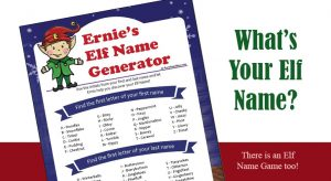 Elf Name Generator - Easy, Fun, Printable