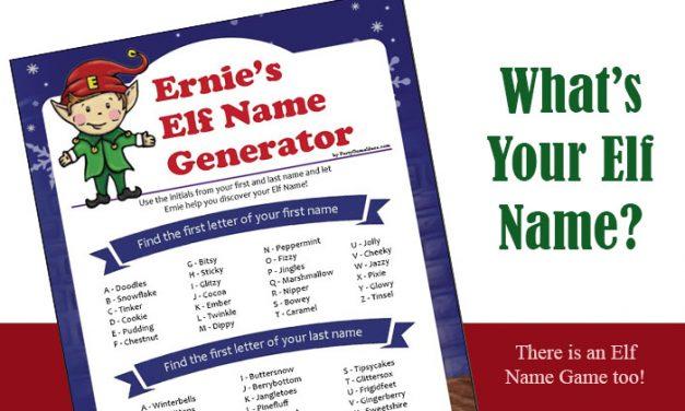 Elf Name Generator