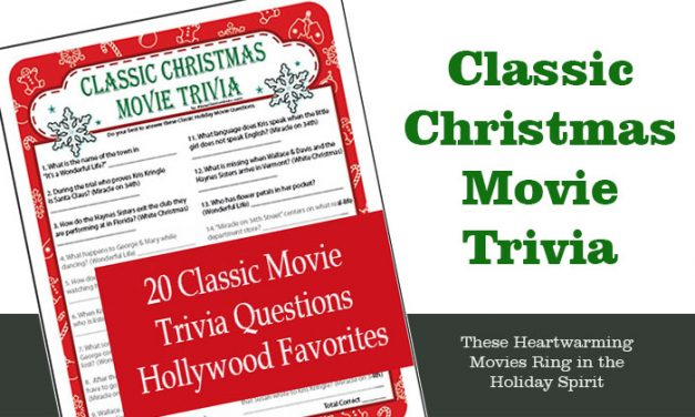 Classic Christmas Movie Trivia Game