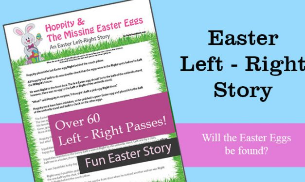 Hoppity & the Missing Easter Eggs Left Right Game