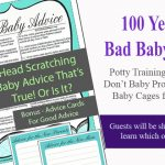 Bad Baby Advice Game and Cards