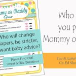 Mommy or Daddy Quiz