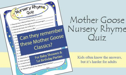 Baby Shower Nursery Rhyme Game