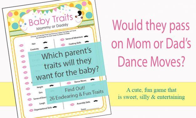 Baby Traits Game