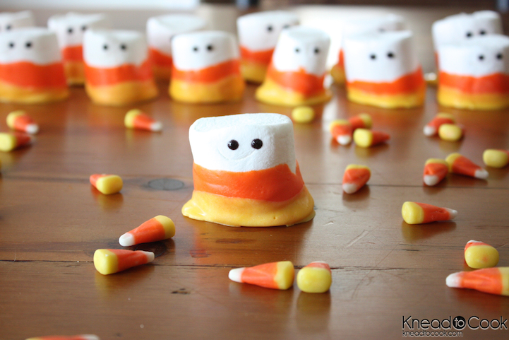 Marshmallow Candy Corn Treats