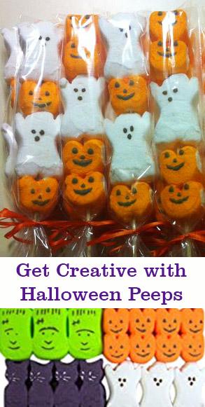 Halloween Peeps Candy Kabobs