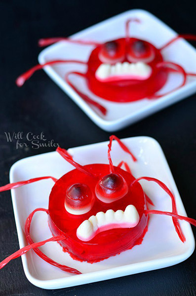 Halloween Jello Monsters