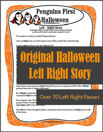 Penguins First Halloween Left Right Story