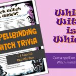 Which Witch is Which Trivia Game