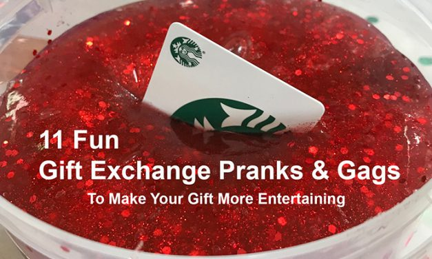 11 Gift Exchange Pranks and Wrapping Gags