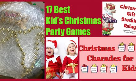 17 Best Kids Christmas Party Games