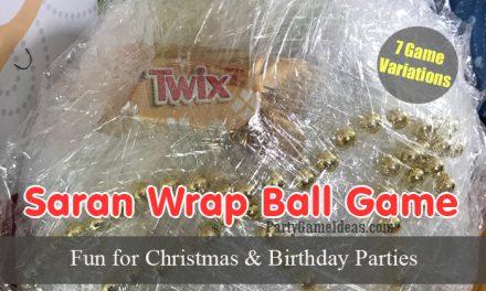 7 Saran Wrap Ball Games, Rules and Ideas