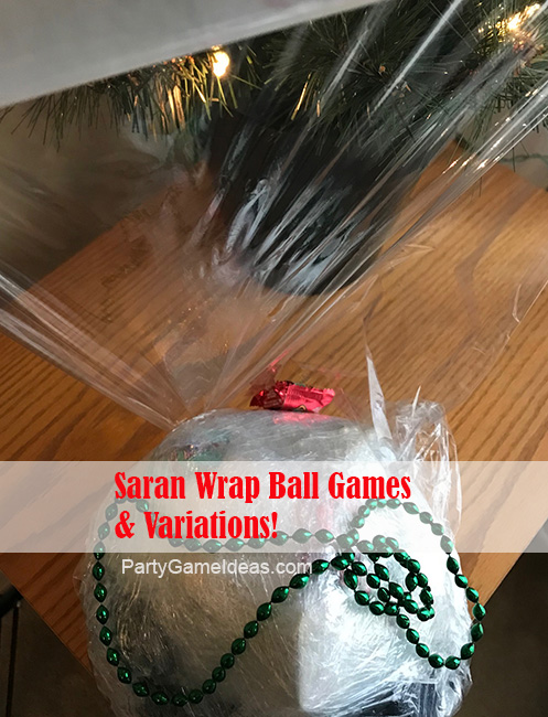How to make a Saran Wrap Ball for your party