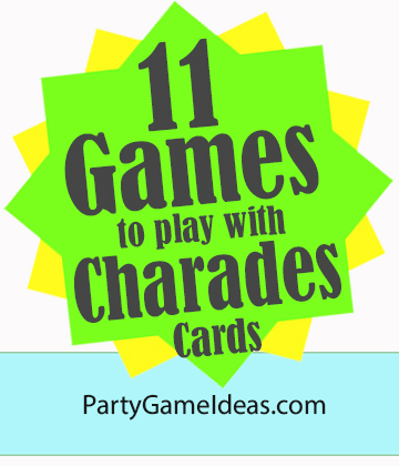 11 Charades Party Game Ideas - Charade Variations