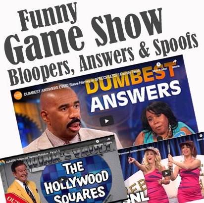 Best Game Show Bloopers, Funny Answers, and Spoofs