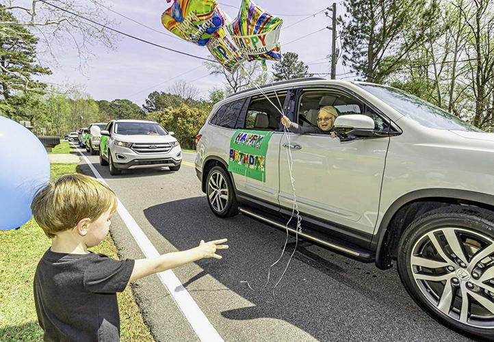 Social Distancing Birthday Parades
