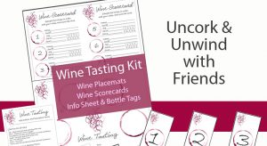 Wine Tasting Party Kit Printables