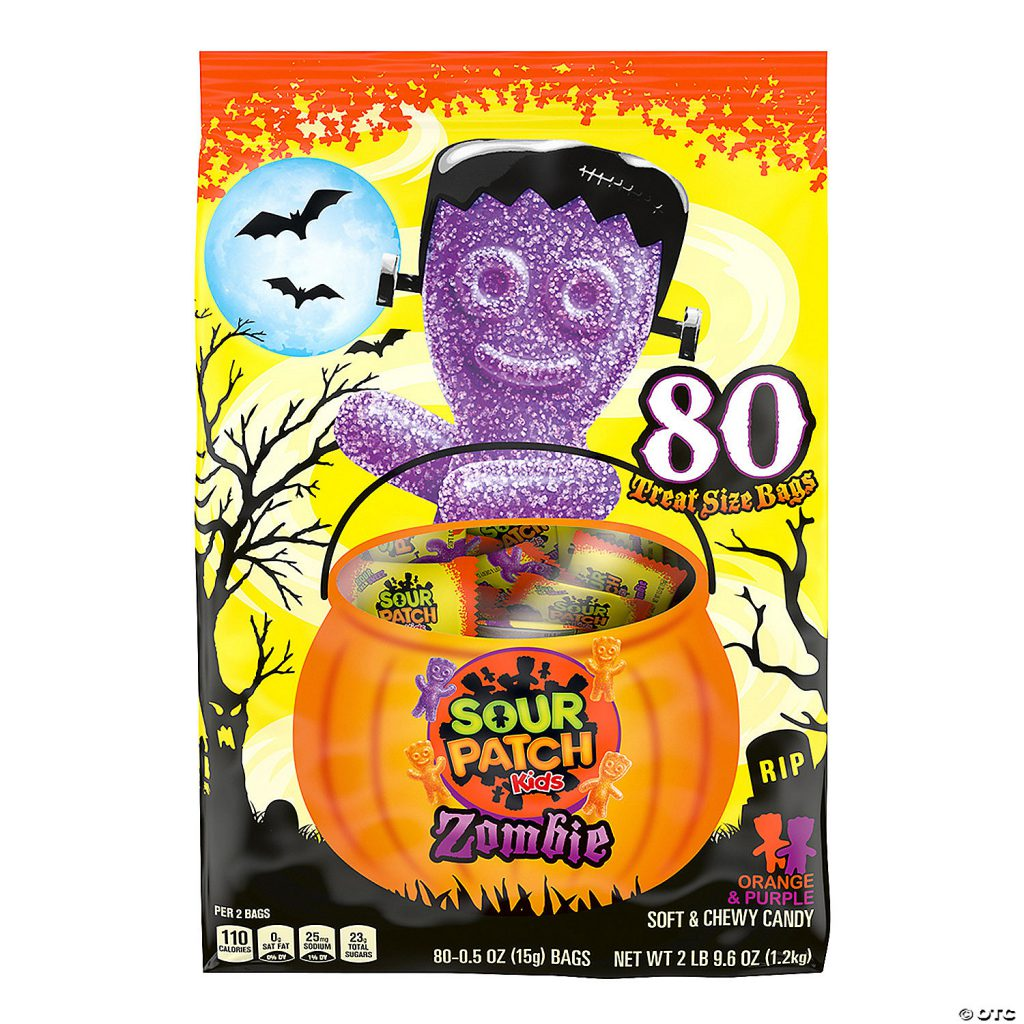 Sour Patch Kids Zombie Candy Treat Bags