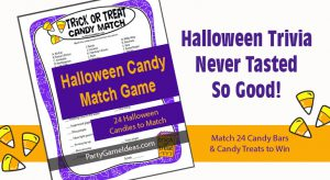 Halloween Candy Trivia Game