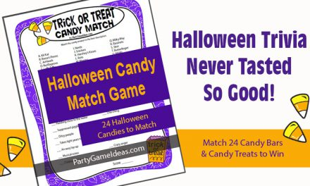 Trick or Treat Halloween Candy Game