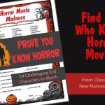 Horror Movie Madness Game