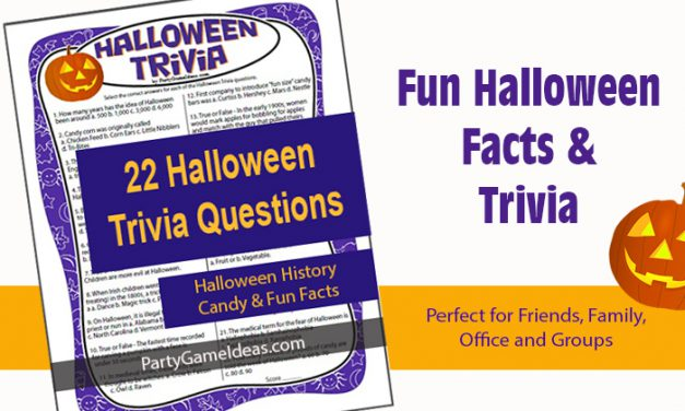 Halloween Trivia Questions Game
