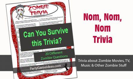 Zombie Trivia Game