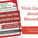 Christmas Carol Bible Trivia Game