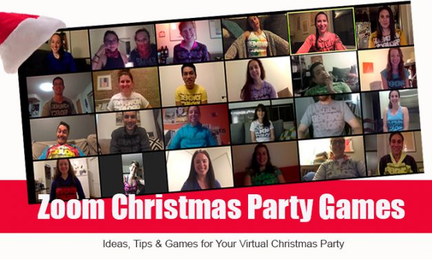 10 Christmas Zoom Party Games