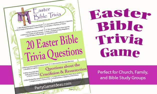 Easter Bible Trivia Quiz Lesson