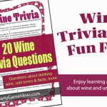 Wine Trivia 20 Questions