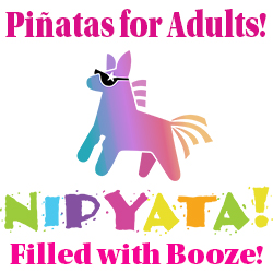 Adult Pinatas with Booze
